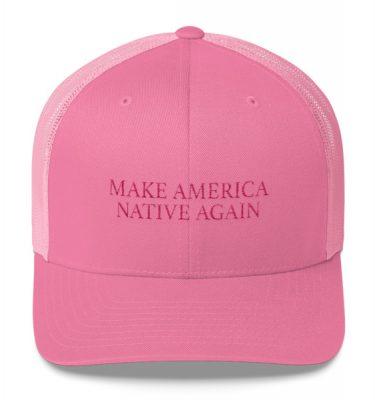 M.A.N.A. Pink Trucker